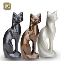 LoveUrns sitting cat pet urns